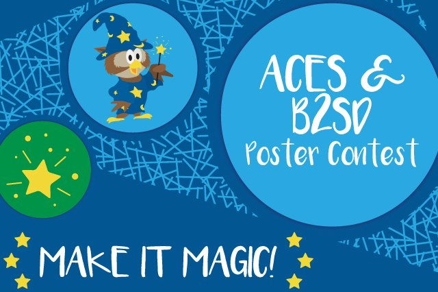 ACES & Bike to School Day Poster Contest: Make It Magic!