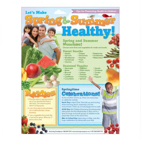 Let's Make Spring & Summer Healthy Tip Sheet
