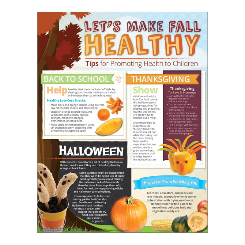 Let's Make Fall Healthy Tip Sheet