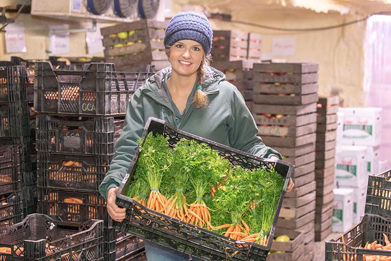 Michigan Farm to Family: CSA Provides Access to Farm Fresh Food